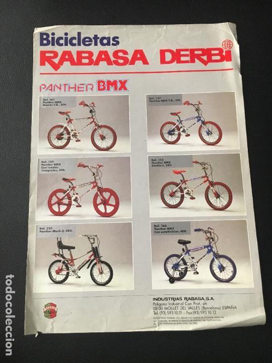 Antiguo catalogo de bicicletas rabasa derbi pan comprar for Catalogo derbi