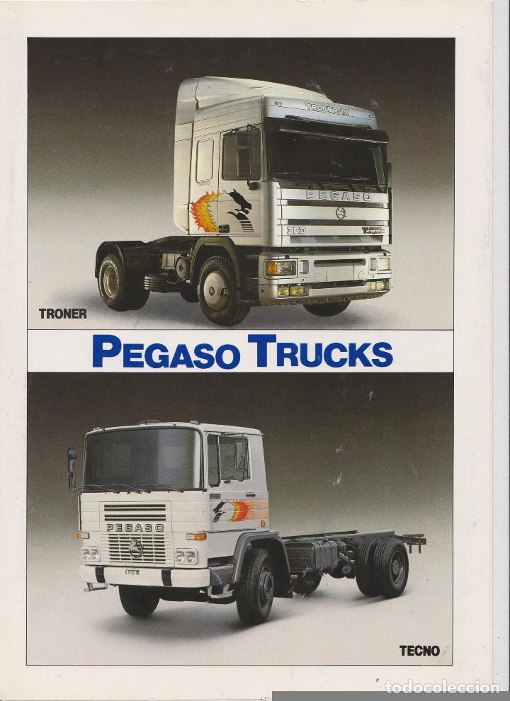 CATALOGO CAMION PEGASO TECNO TRONER (Coches y Motocicletas Antiguas y Clásicas - Catálogos, Publicidad y Libros de mecánica)