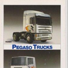 Coches y Motocicletas: CATALOGO CAMION PEGASO TECNO TRONER. Lote 93605130