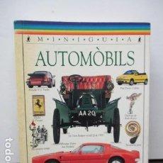 Coches y Motocicletas: MINIGUIA - AUTOMOBILS (EN CATALAN). Lote 93888440