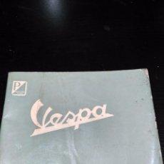 Coches y Motocicletas: LISTIN PRECIOS DE PIEZAS DE RECAMBIO VESPA Y VESPACAR 01-1963. Lote 94961767