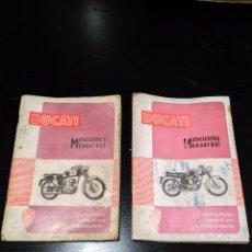 Coches y Motocicletas: LIBROS DUCATI MOTOCICLETA MONOARBOL (2 UNIDADES). Lote 94961891