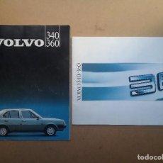 Coches y Motocicletas: VOLVO 340 / 360 CATÁLOGO AUTOMÓVIL COCHE AÑOS '80. Lote 96112076