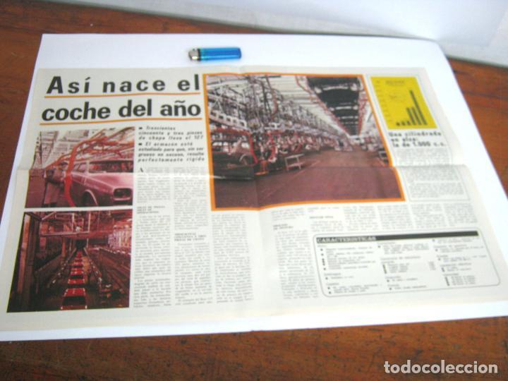Coches y Motocicletas: Especial Expres Seat 127 año 1972 - gran poster gigante - La Gama Seat 1973 - Foto 2 - 95889271