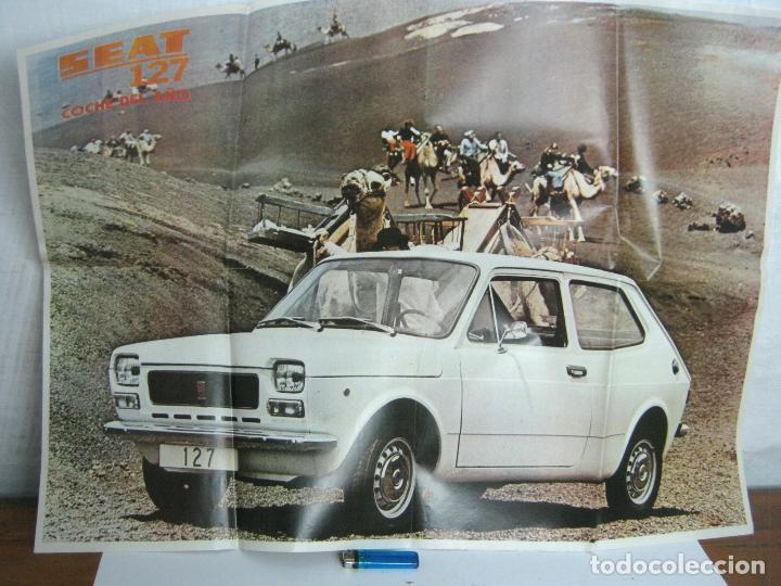 Coches y Motocicletas: Especial Expres Seat 127 año 1972 - gran poster gigante - La Gama Seat 1973 - Foto 4 - 95889271