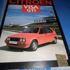 Coches y Motocicletas: CATALOGO CITROEN VISA GTI. Lote 96107967