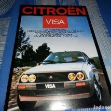 Coches y Motocicletas: CATALOGO CITROEN VISA . Lote 96108111