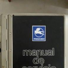 Coches y Motocicletas: PEGASO ENASA. MANUAL BOMBAS DE INYECCION ROTATIVAS Y EN LINEA CON NUMEROSOS DESPIECES. Lote 96108264
