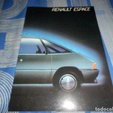 Coches y Motocicletas: CATALOGO RENAULT ESPACE. Lote 96108703