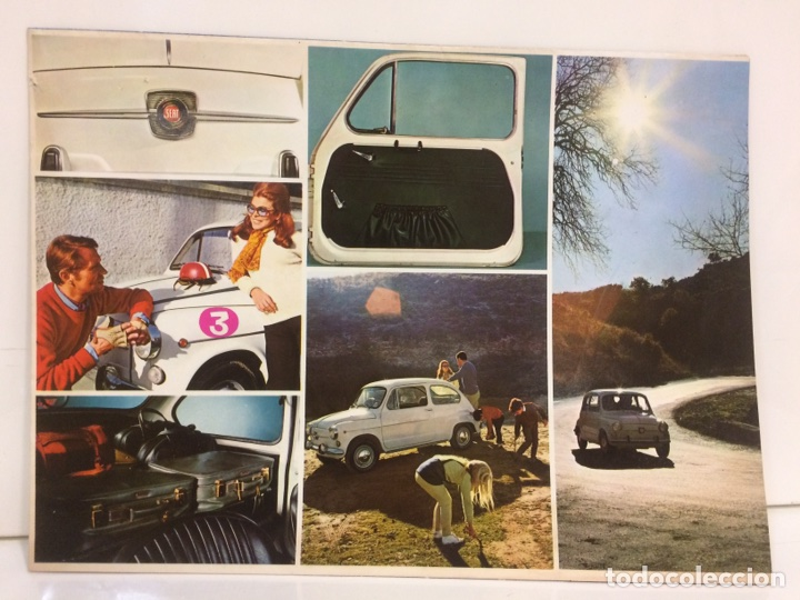 PÓSTER Y FACTURA O PRESUPUESTO DE SEAT 600 (Coches y Motocicletas Antiguas y Clásicas - Catálogos, Publicidad y Libros de mecánica)
