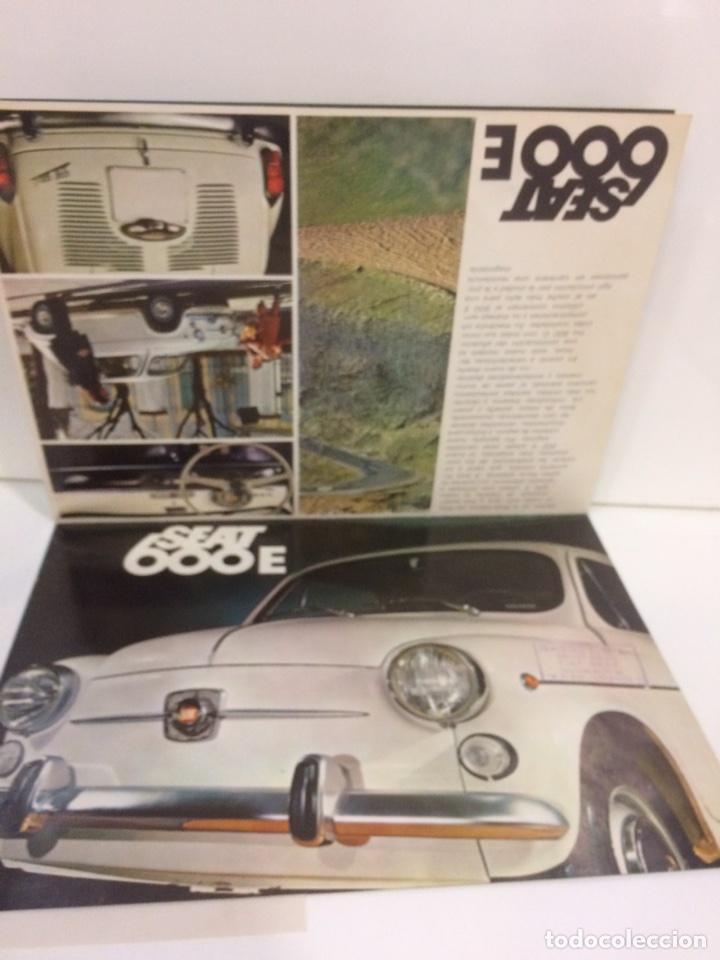 Coches y Motocicletas: Póster y factura o presupuesto de Seat 600 - Foto 2 - 96317882
