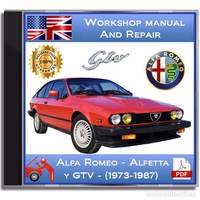 alfa romeo gtv y alfetta 1973 1987 worksh comprar cat logos rh todocoleccion net haynes manual alfa romeo spider workshop manual alfa romeo spider