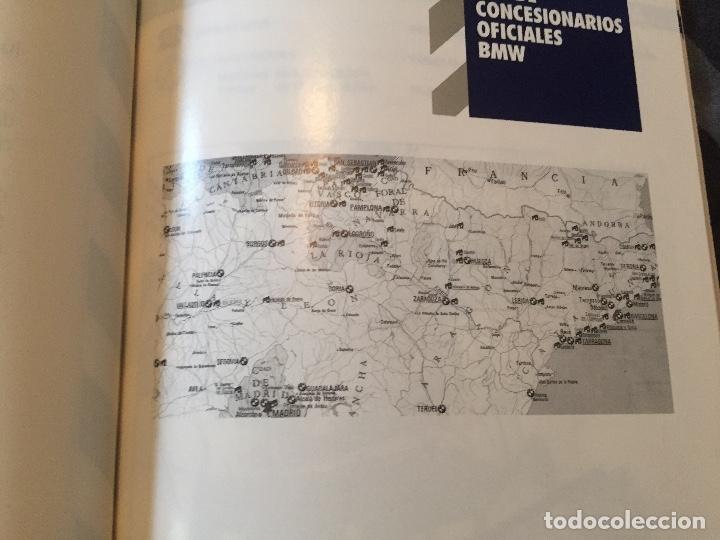 Coches y Motocicletas: Libro red de concesionarios BMW año 1992 - Foto 2 - 96750843