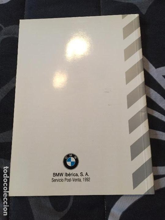Coches y Motocicletas: Libro red de concesionarios BMW año 1992 - Foto 3 - 96750843