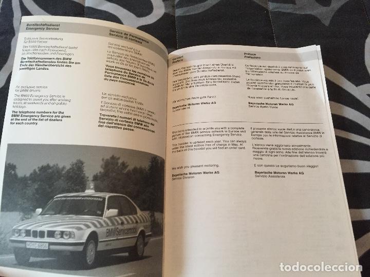 Coches y Motocicletas: Libro BMW servicio año 1991 1992 - Foto 2 - 96751179