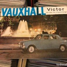 Coches y Motocicletas: VAUXHALL VICTOR FOLLETO LIBRETO PROMOCIONAL PARA CONCESIONARIOS. LUTON ENGLAND. . Lote 96826131