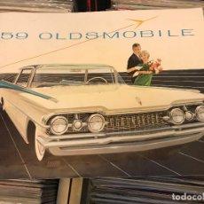 Coches y Motocicletas: OLDSMOBILE `59 LIBRETO DE VENTAS PARA CONCESIONARIO PUBLICIDAD VENTAS 1959 . Lote 96826959