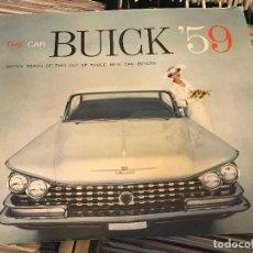 Coches y Motocicletas: BUICK 59 THE CAR LIBRETO PROMOCIONAL PARA VENTAS DE CONCESIONARIO . Lote 96827131