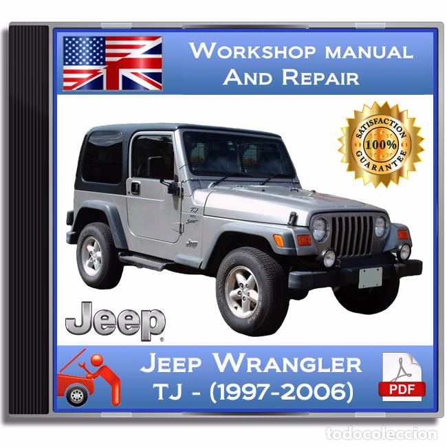 jeep wrangler tj 1997 2006 workshop and s comprar cat logos rh todocoleccion net 87 Jeep Wrangler 91 Jeep Wrangler