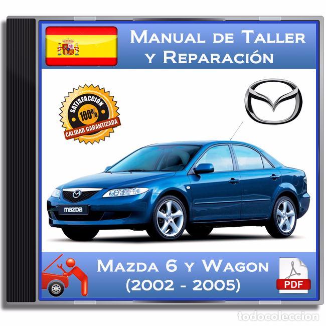 mazda 6 y wagon 2002 2005 manual de talle comprar cat logos rh todocoleccion net 2005 Mazda 6 Interior 2005 Mazda 6 Custom