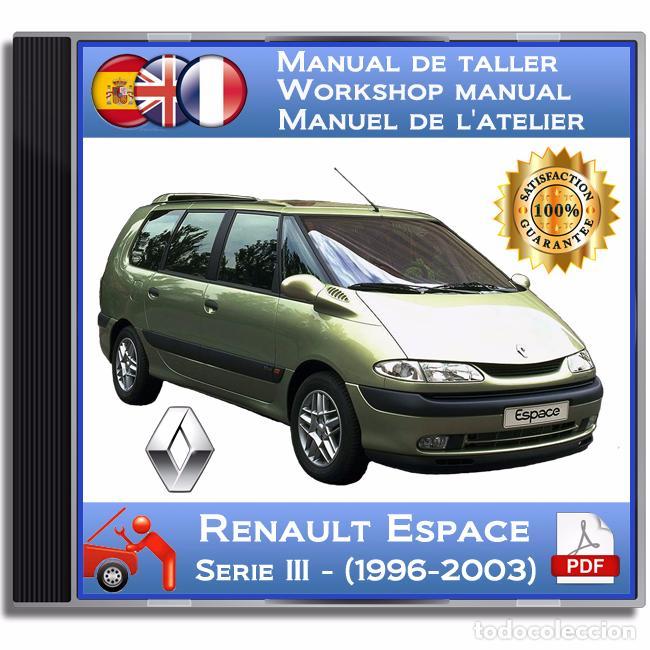 Renault espace serie iii 1996 2003 manu comprar catlogos renault espace serie iii 1996 2003 manual de taller publicscrutiny Choice Image