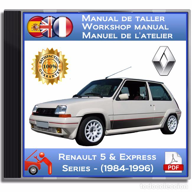 5 pdf renault workshop manual