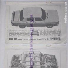 Coches y Motocicletas: PUBLICIDAD - ANUNCIO - RENAULT 8 - 1965. Lote 97088863