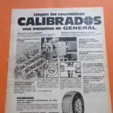 Coches y Motocicletas: PUBLICIDAD 1973 - COLECCION COCHES - SPRIN-JET GENERAL CALIBRADOS. Lote 97159275