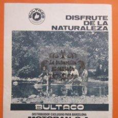 Coches y Motocicletas: ARTICULO 1965 - COLECCION COCHES - MOTO BULTACO. Lote 97205383