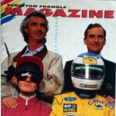 Coches y Motocicletas: REVISTA BENETTON FORMULA MAGAZINE. ISSUE 3. AÑO 1994.. ORIGINAL.. Lote 97758774