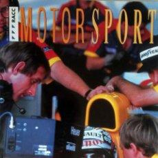 Coches y Motocicletas: REVISTA RACC MOTORSPORT Nº 6. AÑO 1992. ORIGINAL.. Lote 97758983