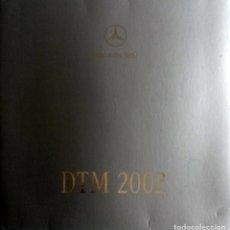 Coches y Motocicletas: DOSSIER PRENSA MERCEDES-BENZ CLK-DTM. AÑO 2002. ORIGINAL.. Lote 97759871