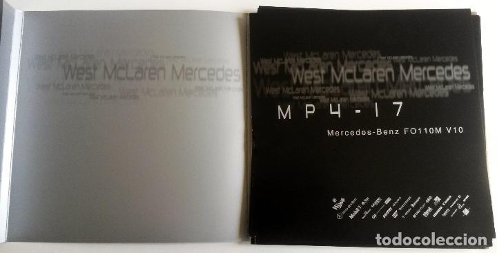 DOSSIER PRENSA MERCEDES-BENZ FO110M V10 - MP4-17. AÑO 2002. ORIGINAL. (Coches y Motocicletas Antiguas y Clásicas - Catálogos, Publicidad y Libros de mecánica)