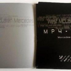 Coches y Motocicletas: DOSSIER PRENSA MERCEDES-BENZ FO110M V10 - MP4-17. AÑO 2002. ORIGINAL.. Lote 97760067
