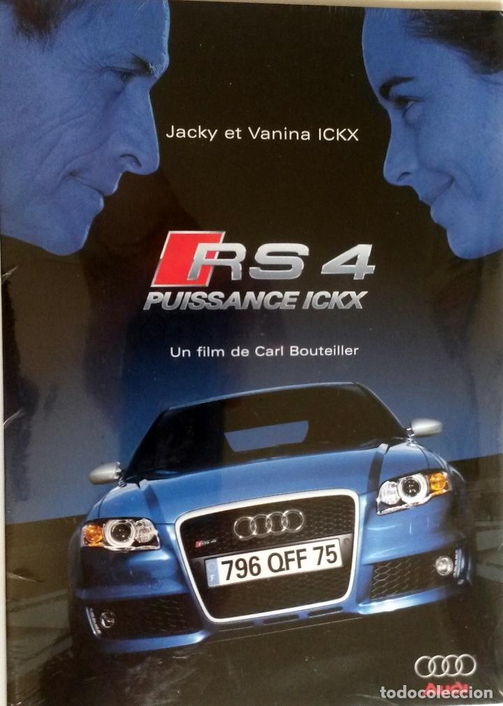 DOSSIER PRENSA AUDI RS 4 - JACKY ET VANINA ICKX. AÑO 2005. CD. ORIGINAL. (Coches y Motocicletas Antiguas y Clásicas - Catálogos, Publicidad y Libros de mecánica)