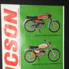 Coches y Motocicletas: FOLLETO - PUBLICIDAD - DUCSON. Lote 97781379