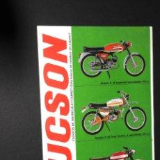 Coches y Motocicletas: FOLLETO - PUBLICIDAD - DUCSON. Lote 97782139