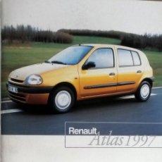 Coches y Motocicletas: ATLAS RENAULT - 1997. ORIGINAL.. Lote 97915179