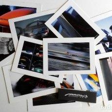 Coches y Motocicletas: LOTE POSTALES OFICIALES ARROWS GRAND PRIX. ORIGINAL.. Lote 97916287