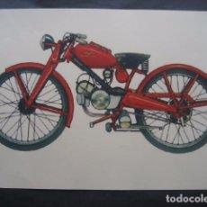 Coches y Motocicletas: CARTEL MOTOS. MOTO GUZZI HISPANIA. Lote 98078679