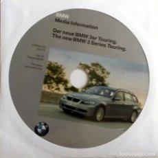 Coches y Motocicletas: CD ORIGINAL- DOSSIER DE PRENSA. BMW TOURING SERIE 3. - 2005.. Lote 215972935