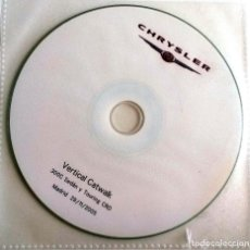 Coches y Motocicletas: CD ORIGINAL- DOSSIER DE PRENSA. CHRYSLER 300 SEDÁN Y TOURING CRD. - MADRID 2005.. Lote 98145083
