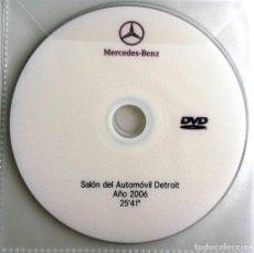 Coches y Motocicletas: CD ORIGINAL- DOSSIER DE PRENSA. MERCEDES-BENZ - SALÓN AUTOMÓVIL DETROIT 2006.. Lote 98147107