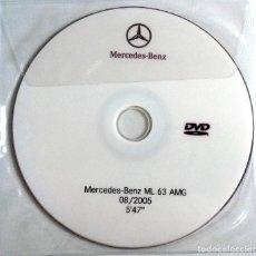 Coches y Motocicletas: CD ORIGINAL- DOSSIER DE PRENSA. MERCEDES-BENZ ML 63 AMG - 2005.. Lote 98147871