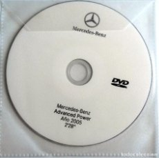 Coches y Motocicletas: CD ORIGINAL- DOSSIER DE PRENSA. MERCEDES-BENZ ADVANCED POWER - 2005.. Lote 98148863