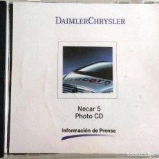 Coches y Motocicletas: CD ORIGINAL- DOSSIER DE PRENSA. DAIMLER CHRYSLER - NECAR 5.. Lote 98383163