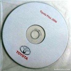 Coches y Motocicletas: CD ORIGINAL- DOSSIER DE PRENSA. TOYOTA PRIUS - 2006. . Lote 98387467