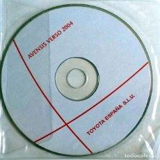 Coches y Motocicletas: CD ORIGINAL- DOSSIER DE PRENSA. TOYOTA AVENSIS VERSO - 2004.. Lote 98388231