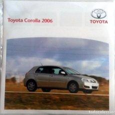 Coches y Motocicletas: CD ORIGINAL- DOSSIER DE PRENSA. TOYOTA COROLLA 2006.. Lote 98390091