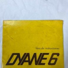 Coches y Motocicletas: DIANE 6, LIBRO DE INSTRUCCIONES, 1969 - 36 PAGINAS, ILUSTRADO. Lote 98441023